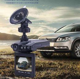 Chinese Quality Cameras Canada - High quality 2.5'' Car Dash cams Car DVR recorder camera system black box H198 night version Video Recorder dash Camera 6 IR LED