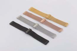 Huawei Smart Watches NZ - 100% Brand New and High Quality Stainless Steel Mesh Watch Band Watch Strap Replacement For Huawei Watch 42mm Wristband