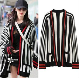 af759c58368 2017 Celebrity Style Cardigan Long Sleeve Crew Neck Autumn Winter Brand  Same Style Cardigan Fashion Women Clothes TY