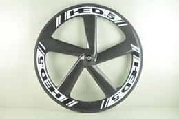 $enCountryForm.capitalKeyWord NZ - HED 65mm deep road fixed gear track 5 spoke full carbon bike wheel five spoke full carbon wheelset easy mount clincher