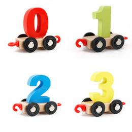$enCountryForm.capitalKeyWord Canada - Baby Montessori Wood Train Model Toy Pattern 0~9 Figure Number Blocks Educational kids Wooden Toy children gifts