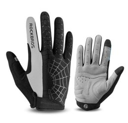 Windproof Thermal Gloves Unisex UK - Windproof Cycling Gloves Touch Screen Riding MTB Bike Bicycle Glove Thermal Warm Motorcycle Winter Autumn Men Gloves