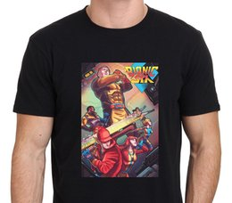 Barato Xl Xxl Seis-Bionic 6 Six 80's Cartoon Classic Men's T-Shirt Tamanho: S-M-L-XL-XXL
