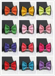 Beau Guaté Pas Cher-Bow Tie Hommes Formal Wear Groom Groomsmen Double Tie Marry British Style Version coréenne Fashion Metal Gift Boxes Handsome Bowknot Tie
