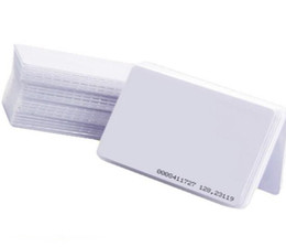 Chinese  10pcs lot TK4100 4102  EM 4100 chip RFID 125KHz blank card Thin PVC ID Smart Card manufacturers