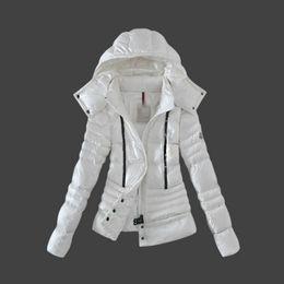 Maya Jacket Canada - NEW Fashion brand woman DOWN JACKET SHORT COAT MAYA OUTWEAR Down jacket jacket Coat three-colour Hooded coat