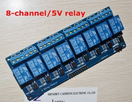 $enCountryForm.capitalKeyWord Canada - Wholesale-Free Shipping 8 channel 8-channel relay control panel PLC relay 5V module for arduino hot sale in stock.8 road 5V Relay Module