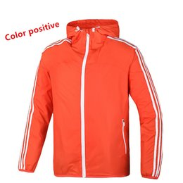 Chinese  Fall-2016 new couple pure sport coat jacket hooded windbreaker and breathable jacket men running free shipping manufacturers