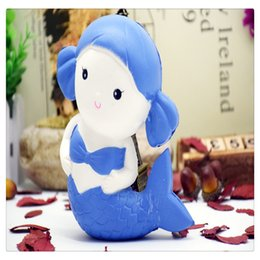 $enCountryForm.capitalKeyWord NZ - 2017 New Jumbo Kawaii Squishies Mermaid Squishy Cartoon Scented Bread Cake Super Soft Squishies Slow Rising Doll Kid Toys Free Shipping