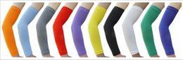 Manches De Bras À Vendre Pas Cher-NEW gros! manchon bras de sport de basket-ball de tir Bands Arm Sleeve Cycling Golf Arm Protection Vent SALE!