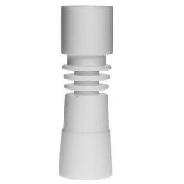 Universal Ceramic Nail UK - Soulton Glass 2016 New Arrival Male Domeless Ceramic Nail Domeless Female Universal Fits 10mm 14mm and 14mm 18mm Ceramic Nails Free Shipping