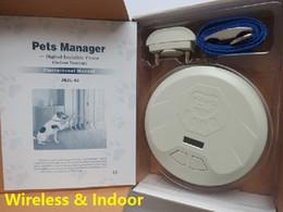 Ingrosso Forniture per animali Forniture per cani Recinzione elettrica per cani Recinzione invisibile recinzione per cani senza fili recinzione per display LCD diametro da 50 cm a 300 cm
