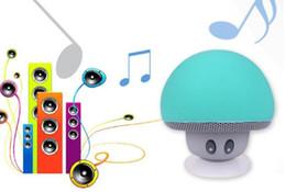 $enCountryForm.capitalKeyWord Canada - Mini Cartoon Mushroom Style Bluetooth Speaker Stereo Music Player Wireless Hands Free With Sucker For Smart Mobile Phone