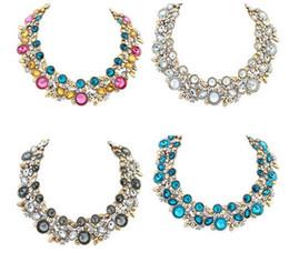 necklaces pendants statement brand jewelry 2019 - 2016 Europen Brand Design Fashion Necklace Collar Necklaces & Pendants Statement Necklace Bib Choker Necklaces Jewelry F