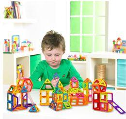 $enCountryForm.capitalKeyWord Australia - Plastic New 200Pcs lot Magnetic Building Blocks Models & Building Toy Magnet Plastic Technic Bricks Learning & Educational Toys For Children