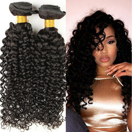 $enCountryForm.capitalKeyWord Canada - Unprocessed Indian kinky Curly Hair 3 Bundles Color 100% brazilian peruvian malaysian Virgin Human kinky Curly Hair Weaves Remy Hair Bundles
