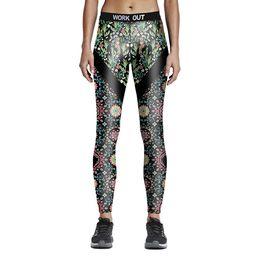 $enCountryForm.capitalKeyWord Canada - Plus Size Womens Fashion Print Fitness Sports Leggings Pencil Pants Digital Printing Work Out Active Yoga Elastic Slim Skinny Trousers Pants