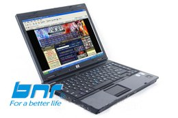 China free shipping Wholesale intel duo core used laptop and cheap computer from really original bnr brand with DVD ROM suppliers