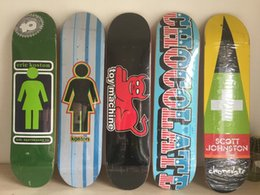 "Wholesale Wholesale-2014 Brand Mixed canadian maple pattern new sk8ers Girl classic pattern with size 7.5"" Pattern Skate Decks"