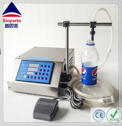 Sinparto CE RoHS Frete grátis! Máquina de enchimento líquida do perfume da máquina de enchimento do controle de GZL-80 Digitas com 2-5000ml / min em Promoção