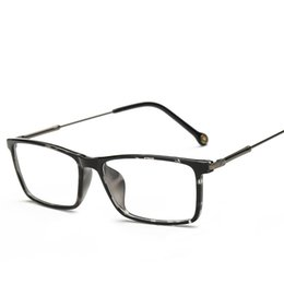 2725bbd3406 Wholesale- SOZO TU Newest Trend Retro TR90 Square Eyewear Frame Light Cosy Men  Women Optical Eyeglasses Computer Glasses Spectacle Frame