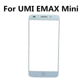 Chinese  Wholesale- High Quality 100% new and tested Touch Screen For UMI EMAX Mini 4G LTE Snapdragon 615 Front Glass Panel Digitizer Repair Parts manufacturers