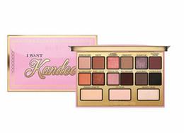 $enCountryForm.capitalKeyWord UK - DHL free Hot Brand I Want Kandee Eyeshadow Palatte I Want Kandee Limited Edition CANDY EYESHADOW PALETTE 15 Colors Eyeshadow Palatte
