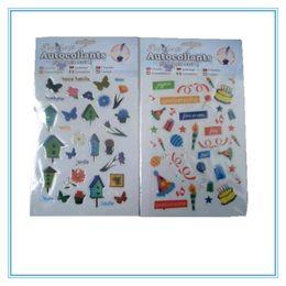 Package Labels Canada - custom PVC sheet vinyl package cartoon adhesive label sticker