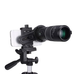 Wholesale 8*40 Universal Mobile Phone Outdoor Hiking Concert Mini Portable Handheld HD Telescope Monocular