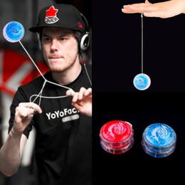 $enCountryForm.capitalKeyWord Australia - Hot 1pc Colorful Magic Yoyo Toys For Kids Plastic Easy to Carry yo-yo Toy Party Boy Classic Funny Yoyo Ball Toys Gift