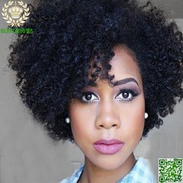 $enCountryForm.capitalKeyWord Australia - Short Hair Wig Afro Kinky Curly Brazilian Human Hair Full Lace Wigs Glueless Lace Front Human Hair Wig Grade 6A