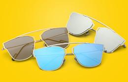 $enCountryForm.capitalKeyWord Canada - MOQ=5PCS summer woman cat eye sunglasses Metal sun glasses Dazzle colour goggle ladies outdoor fashion adumbral 9colors beach free shpping