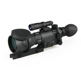 Discount vision optics - New Arrival MAK410 Night Vision Magnification 5x Infrared Illuminator Detachable Long Range Illuminator good quality CL2