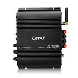 Mini Digital Audio Australia - Freeshipping Lep-168 Plus Mini Portable Wireless 2.1CH Audio Digital Compact Amplifier Bluetooth 2.1 + EDR Speaker