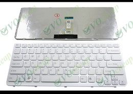 sony vaio laptops NZ - New Laptop keyboard for Sony Vaio E Series SVE14 White keyboard white frame US English Version - 149021811