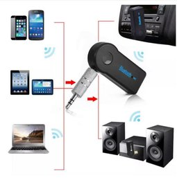 Wholesale Car Bluetooth receiver HandsFree Music Receiver Streaming Audio mm Connect EDUP V Transmitter A2DP Adapter for Cell Phone Speaker