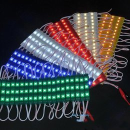 $enCountryForm.capitalKeyWord Canada - SMD 5050 3LEDs Led Modules Lights With Cover Lens Waterproof Injection ABS Led Lights Modules DC12V 1000pcs DHL freeship