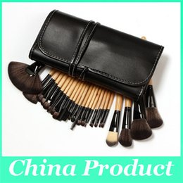 professional makeup brush sets wholesale Canada - Professional Makeup Brushes Set 24pcs High Quality Makeup Tools Kit and Accessories 2016 Cosmetic Brush Set