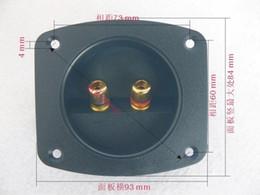 $enCountryForm.capitalKeyWord Canada - Hot sale Quality hi fi speaker wiring box 2 audio terminal speaker terminal block audio clamp speaker accessories Free Shipping