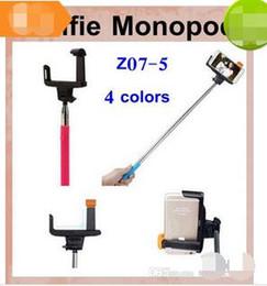 $enCountryForm.capitalKeyWord Canada - Z07-5 handheld monopod with smartphone holder wireless bluetooth selfie timer stick control monopod tripod fit iphone samsung HTC LG OTH006
