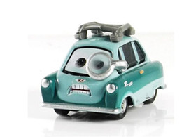 free shipping 100 original pixar cars 2 professor z 155 diecast metal loose toy cars for kids children