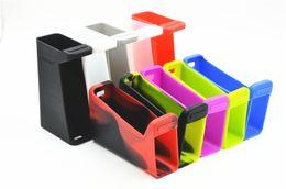 H Case Australia - H-priv 220w Silicone Case Silicon Cases Colorful Rubber Sleeve Hpriv Skin For Smok H priv 220 watt TC Box Mod Vape Kit DHL