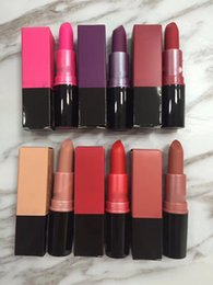 $enCountryForm.capitalKeyWord Australia - Makeup Luster Lipstick Frost Lipstick Matte Lipstick CANDY YUM YUM RUBY WOO CREME D'NUDE LADY DANGER VELVET TEDDY 6 Colors J0047