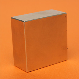 Hot Sale 2015 New Arrival N50 Neodymium NdFeB Fridge Magnet 2x2x1 Inch Rare Earth Magnets Block 46x46x22mm Wholesale Price from magnets cylinders suppliers