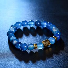 Discount handmade beaded bracelets - Lava Stone Beads Bracelet Men Strand Bracelets For Women Handmade 2017 Men Jewelry Charm Cuff Wristband Adjustable 16253