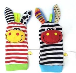 $enCountryForm.capitalKeyWord Canada - Toys Rattle Set Baby Sensory Toys Foot Finder Socks Wrist Rattles Bracelet Baby Animals Wrist Rattles Educational Toys Baby Band Socks Bell