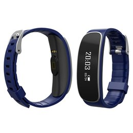 "China New arrival 0.66"" oled display screen heart rate wristband monitor the sports and sleeping IPX5 waterproof bluetooth smart bracelet suppliers"