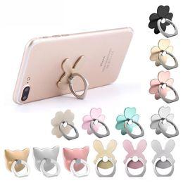 Desk tablet mount online shopping - 2019 New Phone Stand Mount Tablet Desk Finger Socket Grip Holder For Smartphone iPhone Samsung Phone Ring Holder