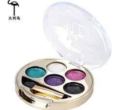 colourpop eye shadow NZ - White Makeup Waterproof colourpop Eyeshadow make cat eye makeup Matallic Shimmer Glitter Eye Shadow Pigment Powder Palette 2016