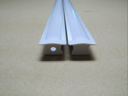 Cover profiles online shopping - cheap recessed aluminum profile for led strip with length cm and PC frosted clear cover